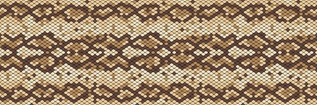 Modello senza cuciture snakeskin
