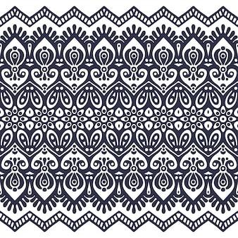 Modello senza soluzione di continuità disegnato a mano . islam, arabo