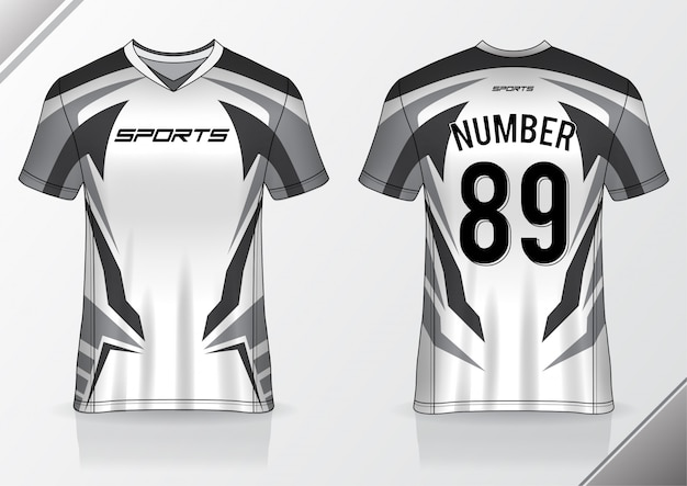 Modello sportivo tshirt maglia calcio