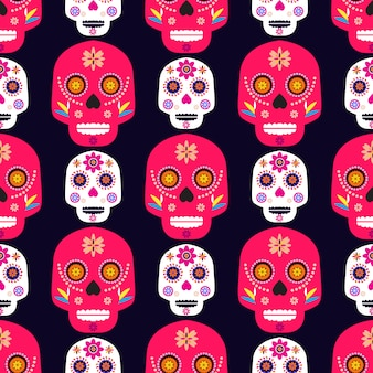 Modello teschio messicano