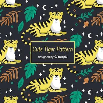 Modello tigre notte