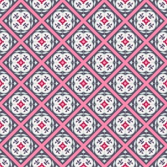 Modello tradizionale geometrico arabo colorato senza cuciture.