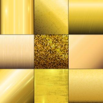 Modello trama d'oro