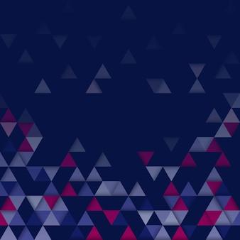 Modello triangolo geometrico colorato