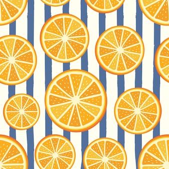 Modello vettoriale arancione
