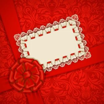 Modello vettoriale elegante per carta di invito di lusso