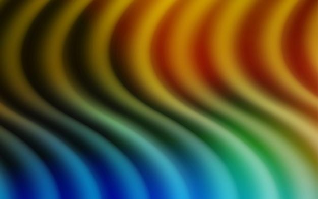 Modello vettoriale giallo con forme di bolla
