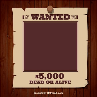 Modello wanted poster