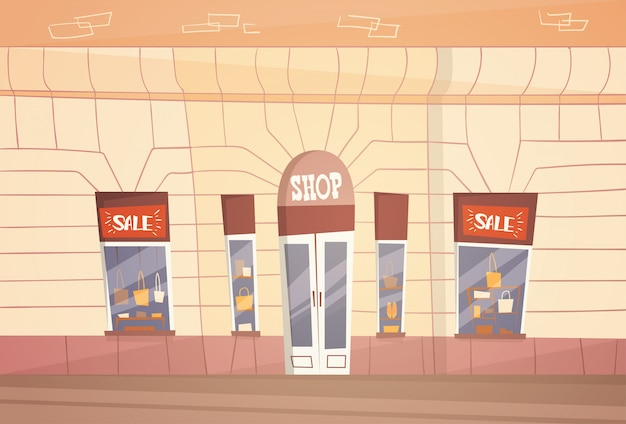 Modern fashion shop grande vendita di banner retial store