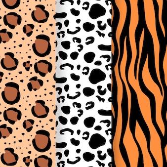 Moderna collezione di motivi animalier