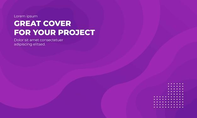 Moderno astratto colorato sfondo viola
