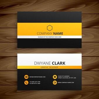 Moderno modello di business card