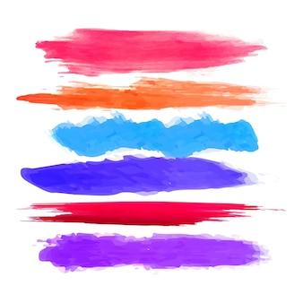 Moderno sfondo acquerello