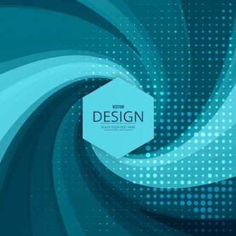 Moderno sfondo blu turbolenza