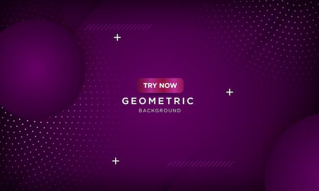 Moderno sfondo geometrico viola con graffi