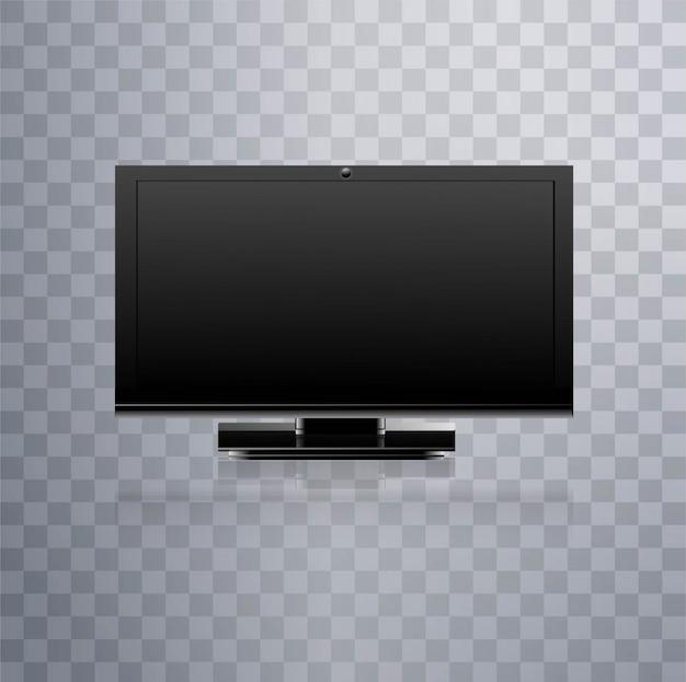 Moderno sfondo televisivo lcd
