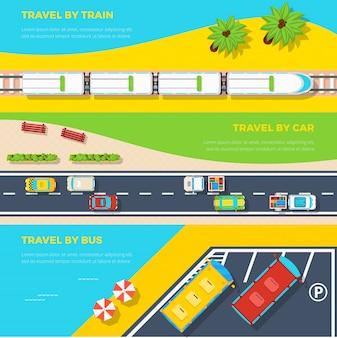 Modi per viaggiare banner