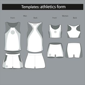 Modulo modello per gli atleti
