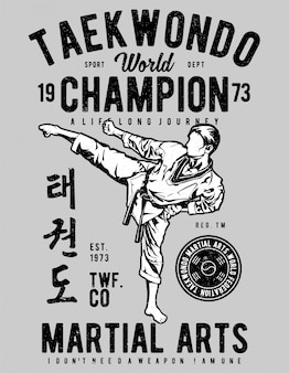 Mondo di taekwondo