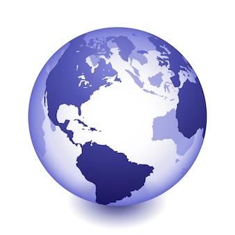 Mondo globo terrestre
