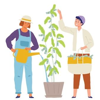 Money tree business concetto di investimento