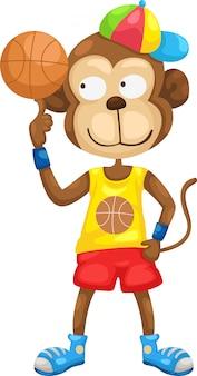 Monkey illustraiton