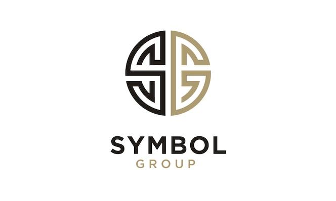 Monogramma / iniziale designazione logo sg ispirazione