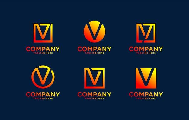 Monogramma logo design ispiratore.