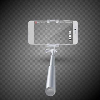 Monopiede bastone per selfie