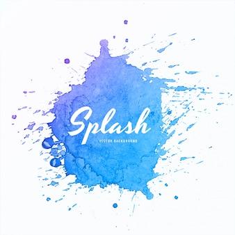 Morbido design colorato acquerello splash