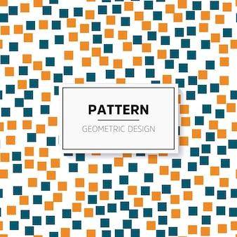 Mosaico colorato astratto. modello senza soluzione di continuità