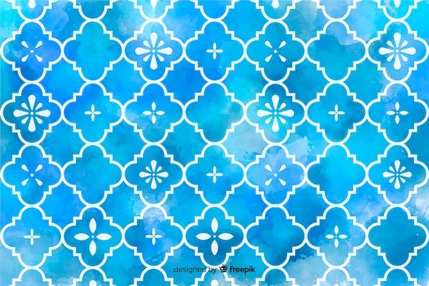 Mosaico dell'acquerello di sfondo