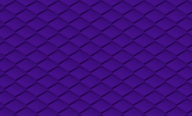 Mosaico geometrico dei rombi del fondo ultravioletto