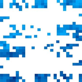 Mosaico sfondo blu