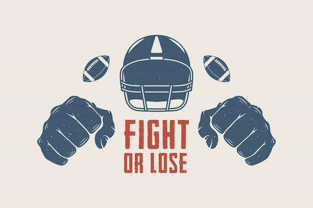 Motivazione del football americano