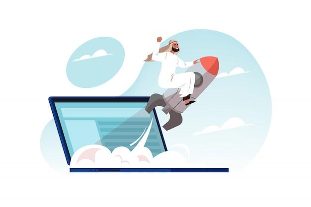Motivazione, raggiungimento degli obiettivi, successo, concetto di lancio di avvio aziendale