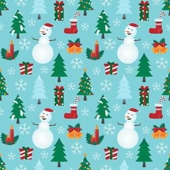 Motivi natalizi. adatto per tessuti, carte regalo e carta da regalo.