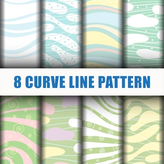 Motivo a linee curve