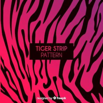 Motivo a strisce tigre