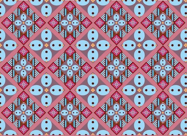 Motivo batik indonesiano