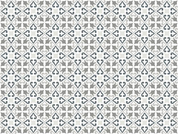 Motivo decorativo senza soluzione di continuità in toni di grigio