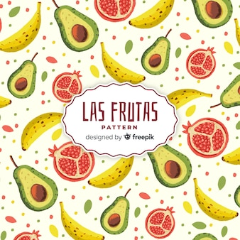 Motivo di frutta tropicale