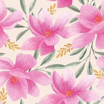 Motivo floreale dell'acquerello