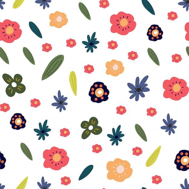 Motivo floreale primavera