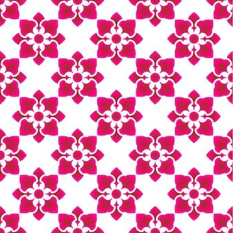 Motivo floreale rosa