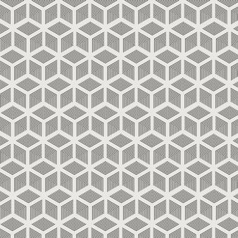 Motivo geometrico astratto esagonale. pattern di sfondo concetto