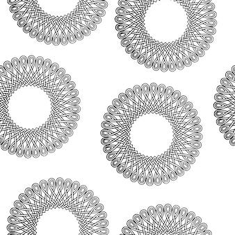 Motivo geometrico minimale in bianco e nero