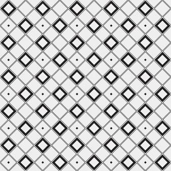 Motivo geometrico realizzato con piazze delineati