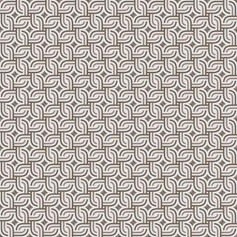 Motivo geometrico senza soluzione di continuità astratta
