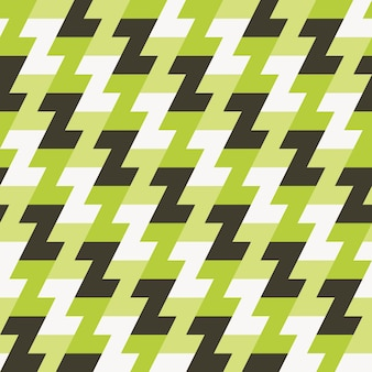 Motivo geometrico senza soluzione di continuità per la stampa del tessuto